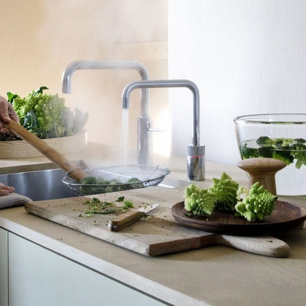 Quooker Nordic Square single tap Quooker gratis montage actie