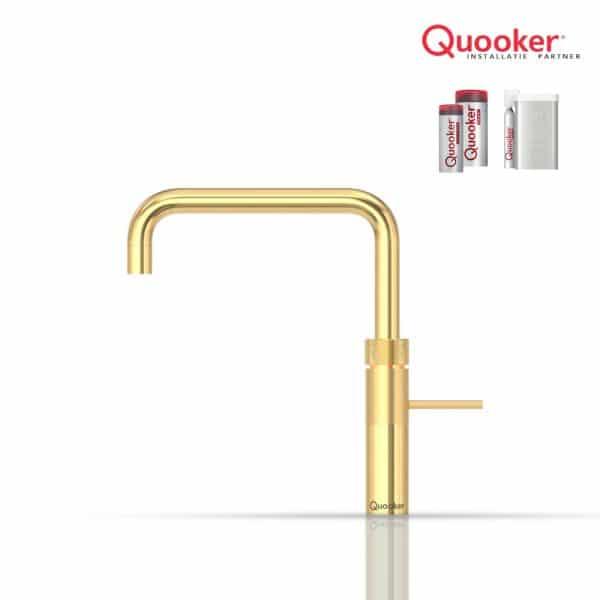 Quooker Fusion Square goud
